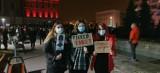 Protest w obronie praw kobiet w Dąbrowie ZDJĘCIA