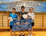 Paweł Oberzig pozamiatał przeciwnikami na turnieju badmintona w Miastku. Dla UKS Bliza Władysławowo medale też Marty Czajki i Adama Fikusa