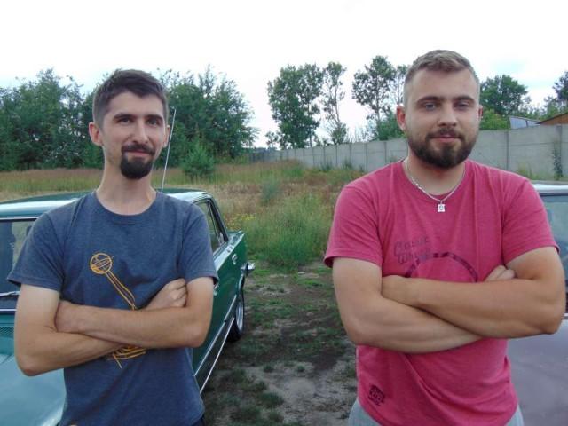 Od lewej Tomasz Przywarczak i Wojciech Politowski