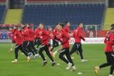 Reprezentacja Polski ponownie trenuje w Chorzowie. Tym razem na Stadionie Śląskim. Zobaczcie zdjęcia kadrowiczów