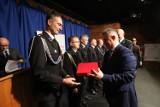 Najlepsi policjanci i strażacy z regionu łódzkiego nagrodzeni. Finał wojewódzkiego konkursu [ZDJĘCIA]