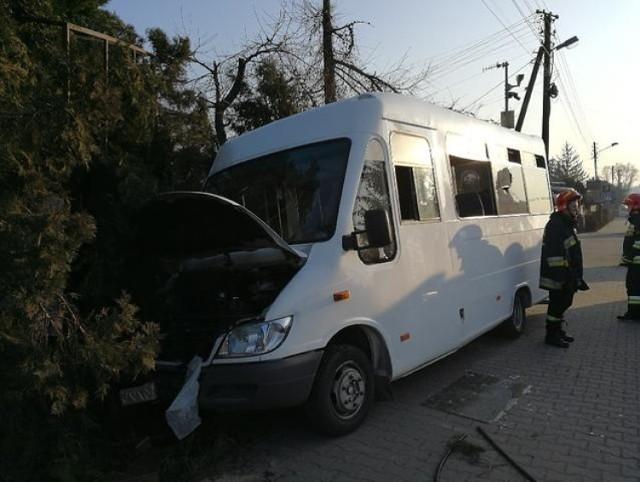 Wypadek busa w Bochni, 14 I 2018