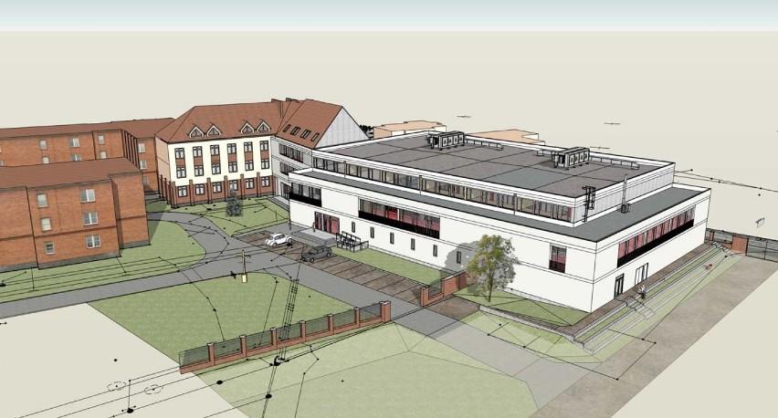 Diecezja kaliska buduje salę gimnastyczną za ponad 10 mln złotych dla technikum i seminarium ZDJĘCIA
