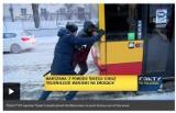 Materiał w BBC o Białorusinie, który pchał autobus w Warszawie