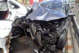 Śmiertelny wypadek na autostradzie A1, pomiędzy Żorami a Rybnikiem. Zginął 42-latek. Sprawca stracił panowanie nad autem