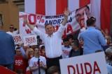 Andrzej Duda w Bolesławcu. Tłumy witały prezydenta w centrum miasta [ZDJĘCIA]