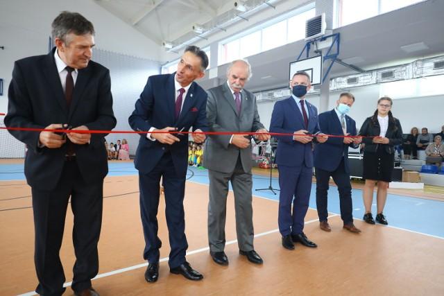 Otwarcie sali gimnastycznej w Aleksandrowie