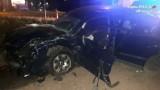 Jastrzębie: niebezpieczny wypadek na Cieszyńskiej. Volkswagen wymusił pierwszeństwo hondzie. Cztery osoby w szpitalu