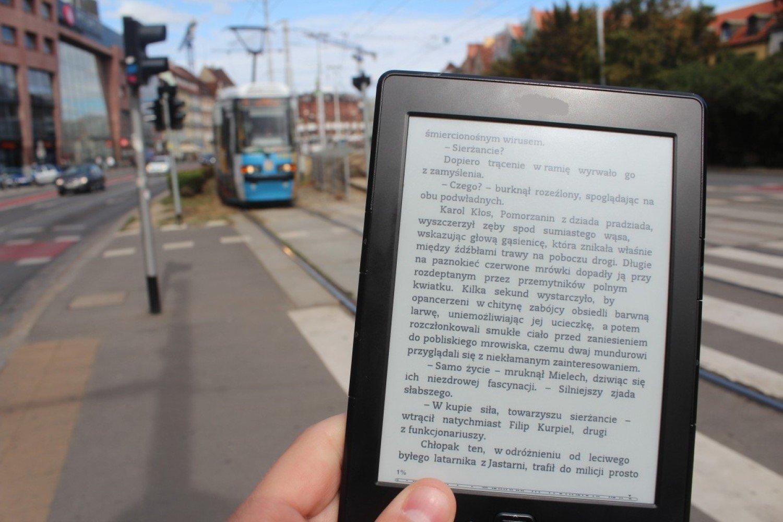 E book to nie książka. Sympatyczna akcja we wrocławskiej