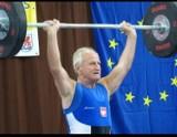79-letni sztangista z kolejnym medalem!