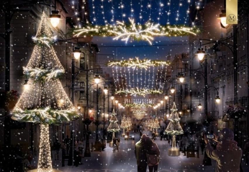 Już rozpoczęły się prace nad montażem świątecznej iluminacji...