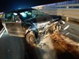 Dwa nocne wypadki w gminie Woźniki. Nie wyglądało to najlepiej