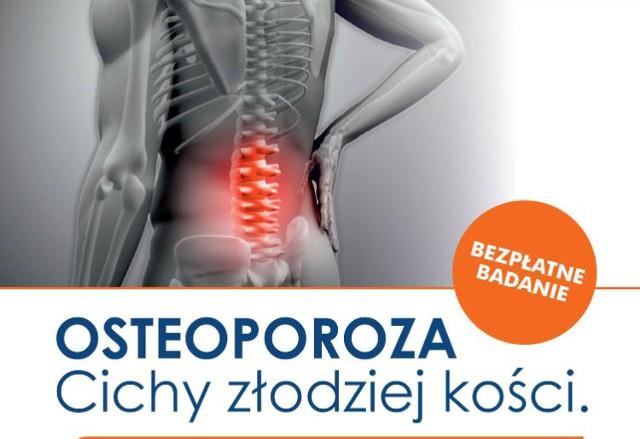 Bezpłatne badania w kierunku osteoporozy i raka prostaty
