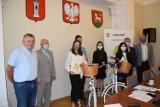 Lider Szkoły 2020. Rowery dla uzdolnionych uczniów wieluńskich szkół FOTO