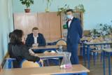 Matury 2021. Egzamin z języka angielskiego w LO im. B. Prusa w Skierniewicach