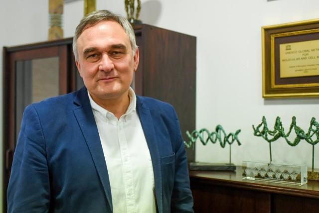 Prof. Marek Figlerowicz, szef Instytutu Chemii Bioorganicznej PAN w Poznaniu.
