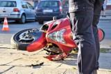 Sławno: Zderzenie motocykla z Oplem! Dwie karetki, są ranni [ZDJĘCIA, WIDEO] - AKTUALIZACJA