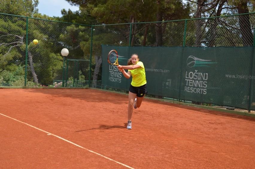 Dominika Podhajecka bardzo dobrze spisała się w rozegranych...