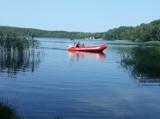 Akcja ratunkowa na jeziorze Dąbie. Strażacy znaleźli ciało mężczyzny