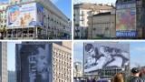 """Warszawska """"reklamoza"""" na chustach paryskiego domu mody. Projekt inspirowany stołeczną brzydotą"""