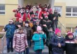 Motomikołaje odwiedzili uczniów Szkoły Podstawowej Specjalnej nr 19 w Kaliszu. ZDJĘCIA