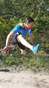 55 kilometrów na 55 urodziny. Bieg w czasach koronawirusa. ZDJĘCIA
