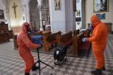 Kościół św. Stanisława w Czeladzi zdezynfekowany, by było bezpiecznie
