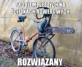 Memy o rowerzystach. Przesiadka z auta na dwa kółka [GALERIA]