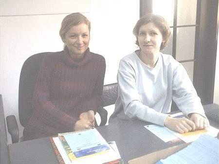 Jeżeli sytuacja nie ulegnie zmianie już za kilka dni Katarzyna Kowalczyk (z lewej) i Małgorzata Maczyńska nie udzielą żadnych informacji mieszkańcom Bolesławca. Czy naprawdę wszystko wiemy o Unii Europejskiej?  FOT. ARCHIWUM GWR