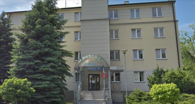 Komisariat policji przy ul. Janowskiego w Warszawie