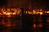 Śrem: cmentarze nocą. Niezwykły nastrój na naszych nekropoliach [ZDJĘCIA]