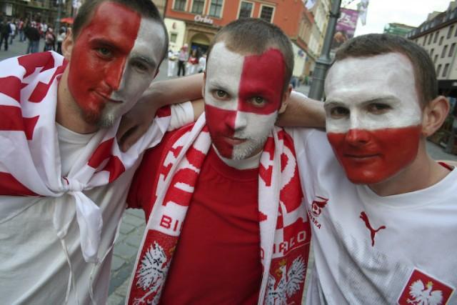 Wrocławscy kibice podczas Euro 2008