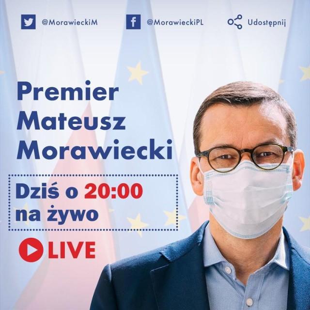 Dość nietypowe spotkanie z premierem Mateuszem Morawieckim, a także szefem Ministerstwa Zdrowia Adamem Niedzielskim  ma odbyć się na Facebooku.