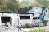 Ogromny pożar na dawnym Zachemie w Bydgoszczy. W nocy spłonęła hala produkcyjna [zdjęcia, wideo]