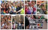 Katowice: Marsz Równości 2019 - było kolorowo i bezpiecznie [ZDJĘCIA]. Tysiące osób przeszło ulicami miasta w tęczowym pochodzie