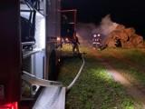 Gmina Szamocin: Pożary balotów słomy. Strażacy są pewni - to podpalenia [ZDJĘCIA]