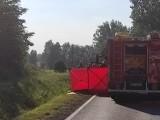 Gmina Gniezno. Śmiertelny wypadek na DK15 z udziałem motocyklisty