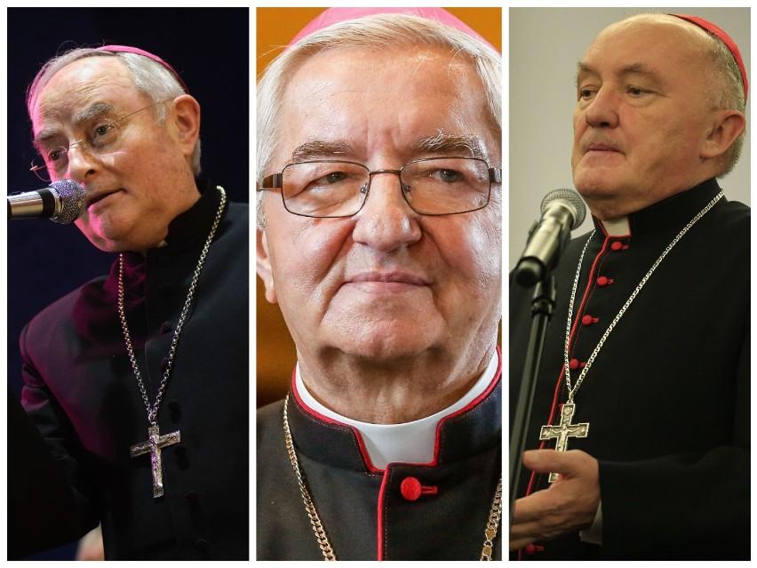 Lista polskich biskupów, którzy mieli ukrywać lub przenosić księży pedofilów. Raport trafił do papieża Franciszka [zdjęcia]