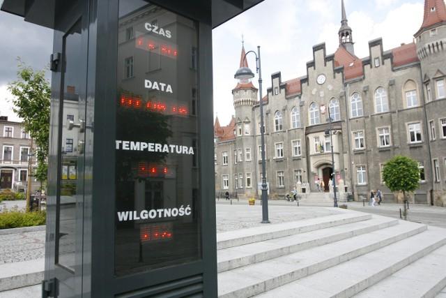 Pogodynka na pl. Magistrackim w Wałbrzychu