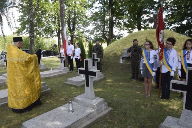Obchody 27. rocznicy Odnowienia Ukraińskiego Cmentarza Wojskowego w Aleksandrowie Kujawskim