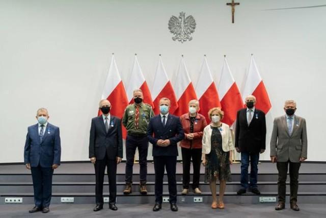 Nagrodzeni Medalami Stulecia Odzyskanej Niepodległości.