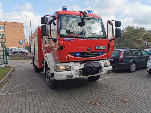 Dyspozytor wysyła strażaków do poszkodowanych, gdy nie ma do dyspozycji wolnej karetki. Tak było m.in. we Włocławku