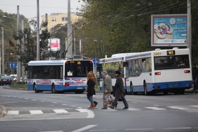 Trolejbusem dojedziemy na Skwer Kościuszki