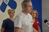 Niemowlę poparzone w wybuchu biokominka jutro opuści ostrowski szpital [ZDJĘCIA + WIDEO]