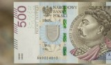 Nowy banknot 500 zł. Zobacz, jak wygląda