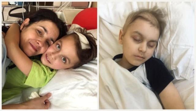 Na siepomaga.pl trwa zbiórka na operację Mateusza, któremoże uratować mu życie