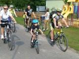Ponad 400 uczestników X Rodzinnego Rajdu Rowerowego wyruszyło dzisiaj z Tomaszowa Maz.
