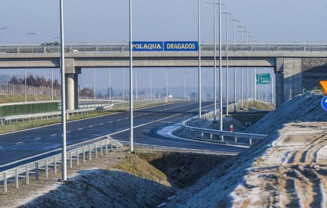 Kierowcy mogą skorzystać z zachodniej części obwodnicy Bydgoszczy w ciągu drogi ekspresowej S5.