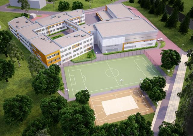 Szkoła w Kowalach będzie bliźniaczo podobna do placówki w gdańskich Kokoszkach