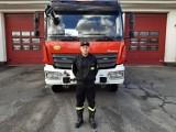 Strażak z Legnicy choć był po służbie, natychmiast ruszył z pomocą